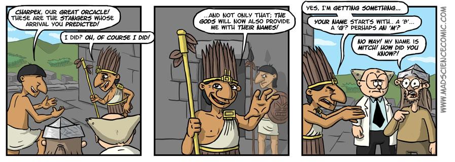 114: The Oracle Speaks